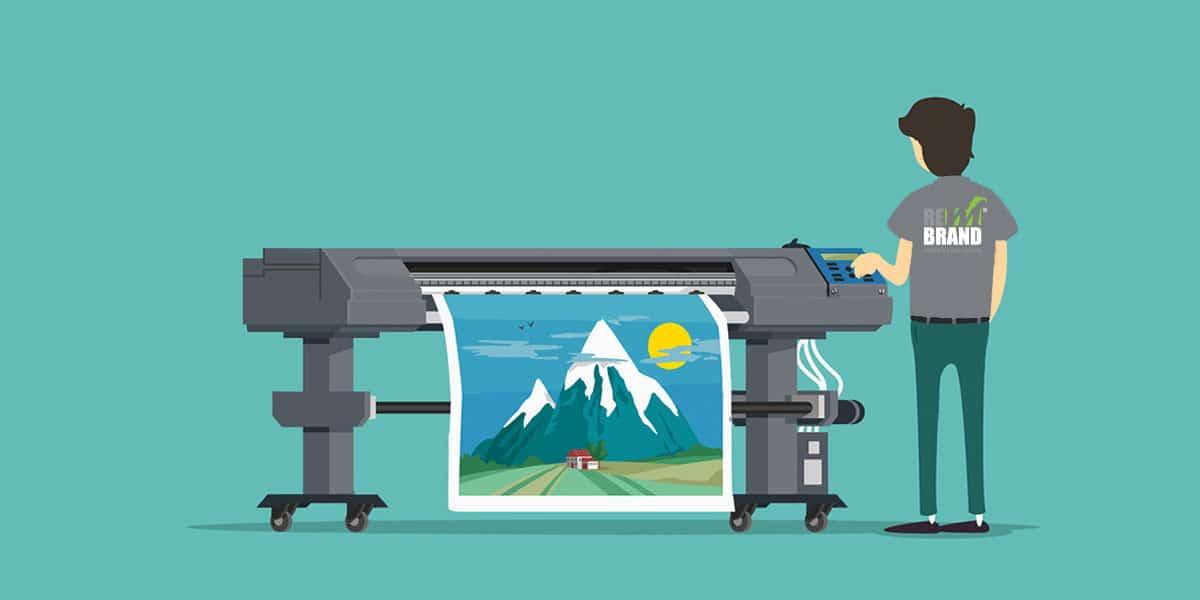 Широкоформатен печат и важността на външната реклама